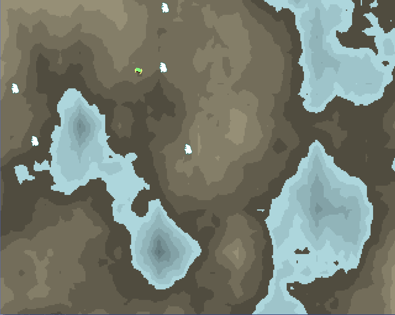 2D Perlin Noise Map